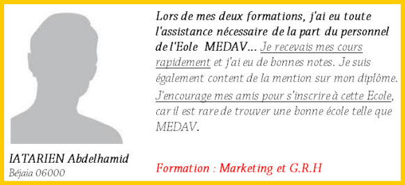 iatarien abdelhamid Marketing (à Distance)