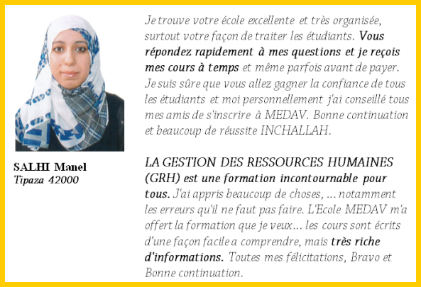Formation Gestion Des Ressources Humaines Grh Formation A