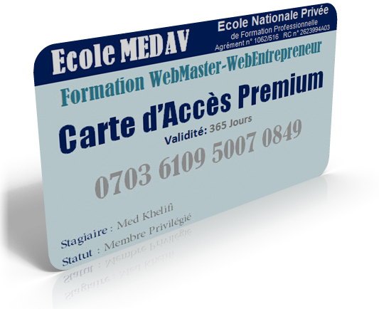 carte4 Formation Webmaster Professionnel (à Distance)